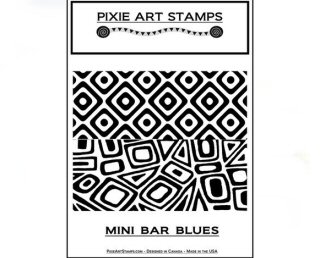 Pixie Art Mini Bar Blues