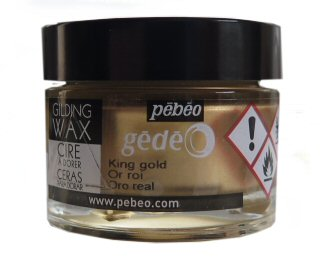 Pebeo King Gold guilding wax
