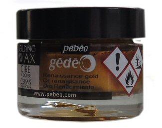 Pebeo Renaissance gold guilding wax