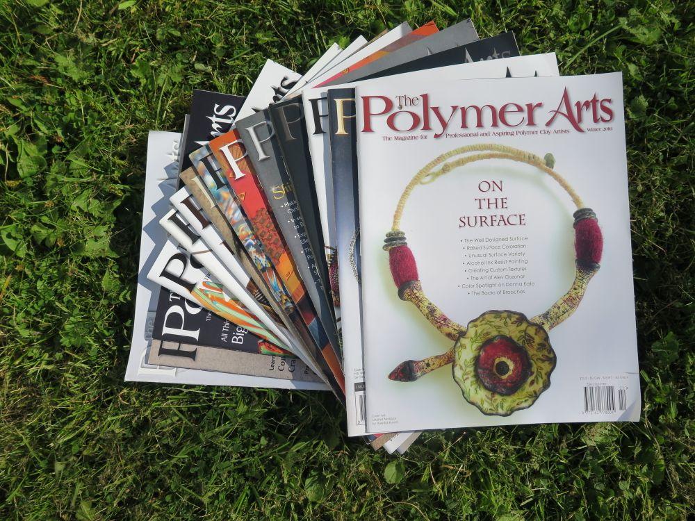 Polymer Arts Magazines