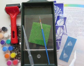 Gelli Plate Adventure Kit