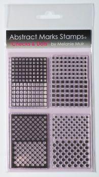 Checks and dots stamp