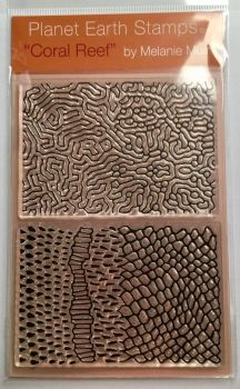 Organic texture stamp  Coral Reef