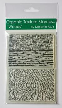 Organic teture stamp Woods