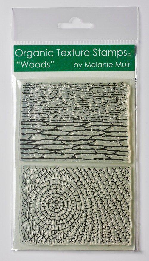 Organic teture stamp Woods