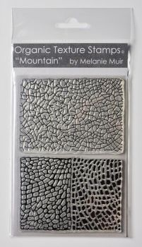 Organic texture stamp Mountain