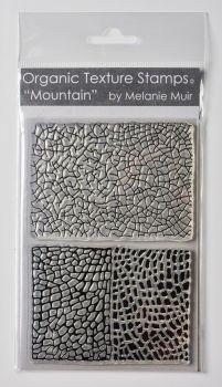 Organic texture stamp Mountain