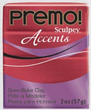 Red glitter Premo