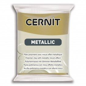 Cernit Metallic Antique Gold 055