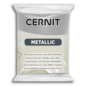 Cernit  Metallic Silver 080