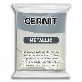 Cernit Metallic  Steel 167