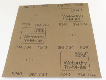 3M wet and dry sandpaper