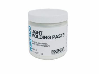 Golden light moulding paste