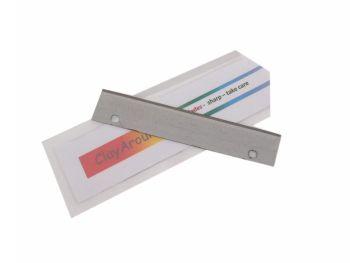 Rigid slicer blade