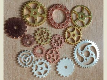 Steam punk cogs