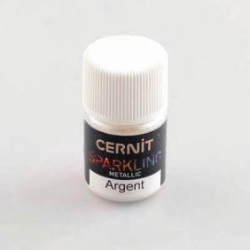 Cernit Sparkling Metallic Silver