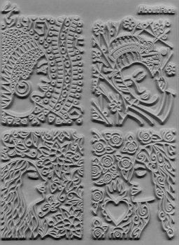 Lisa Pavelka texture stamps About Face