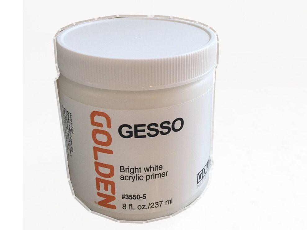 Gesso - bright white