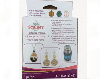 Liquid Sculpey Glam Metallics