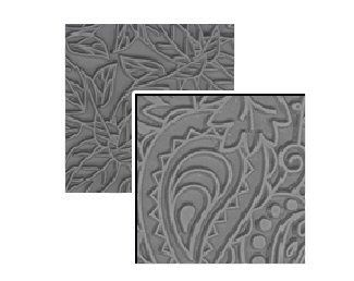 Lisa Pavelka texture stamps x 2 Flow