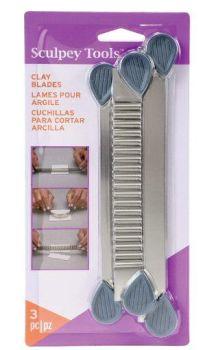 Sculpey clay blades