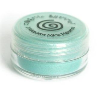 Frosted Aqua mica powder