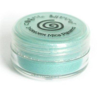Frosted Aqua mica powder