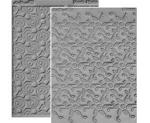 Lisa Pavelka texture stamps x 2 spirit