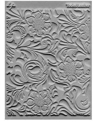 Lisa Pavalka texture stamp Tooled Leather