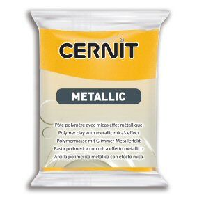 Cernit Metallic Yellow 700