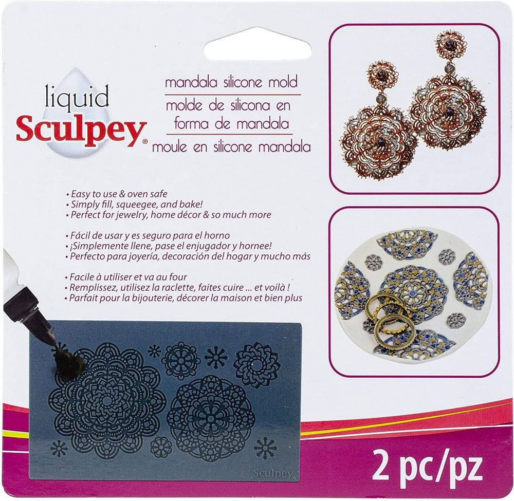 Sculpey Mandala mold