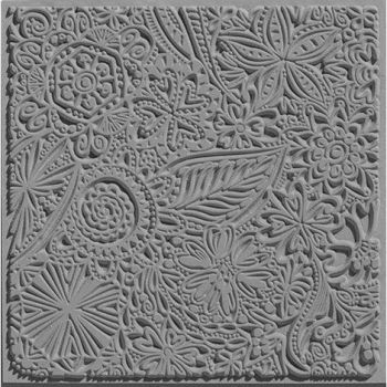 Flowers texture stamp