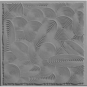Spirals texture stamp