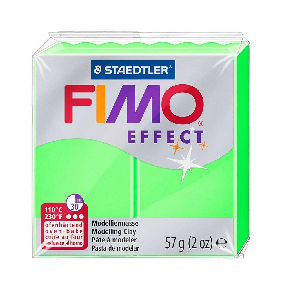 Fimo effect neon ~Green 56gm