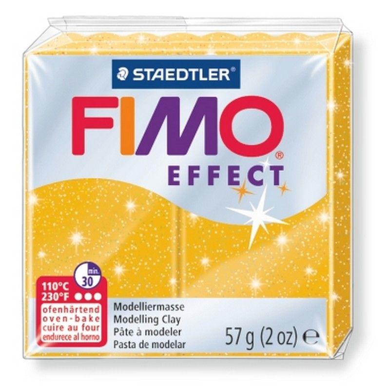 Glitter gold - 112 Fimo