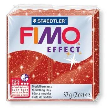 Glitter red -202 Fimo