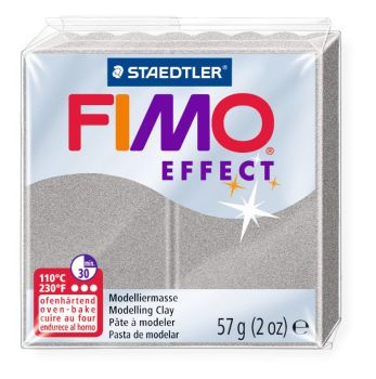 Metallic silver -81 Fimo