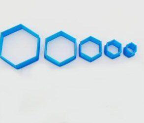 Hexagon cutters