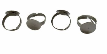 Silver style rings