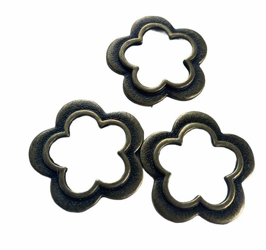 bronze small flower frames