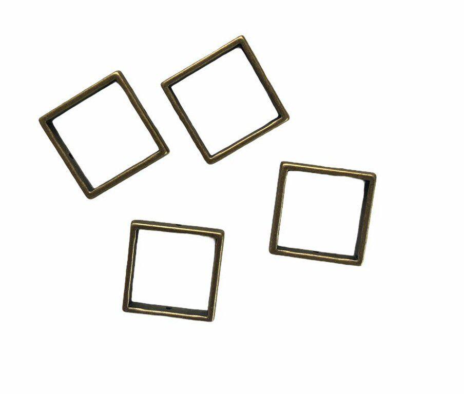 bronze square frames