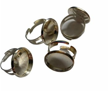 silver style ring  - E8