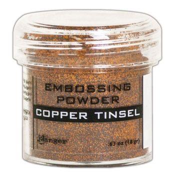 Ranger embossing powder copper Tinsel