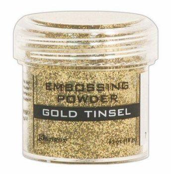 Ranger embossing powder Gold Tinsel