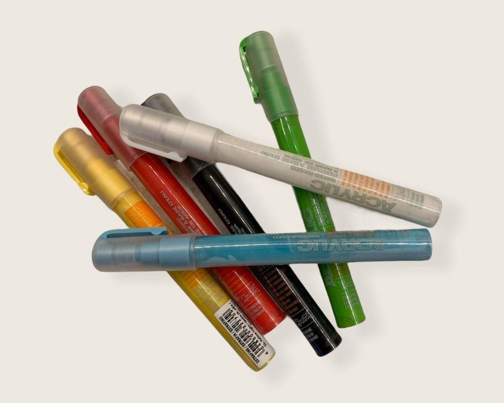 Acrylic Marker Pens
