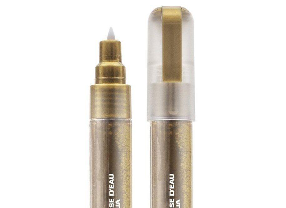 Metallic gold marker 0.7mm