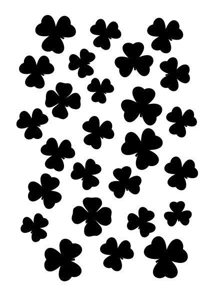 Clover stencil
