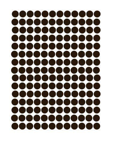 polkadots stencil