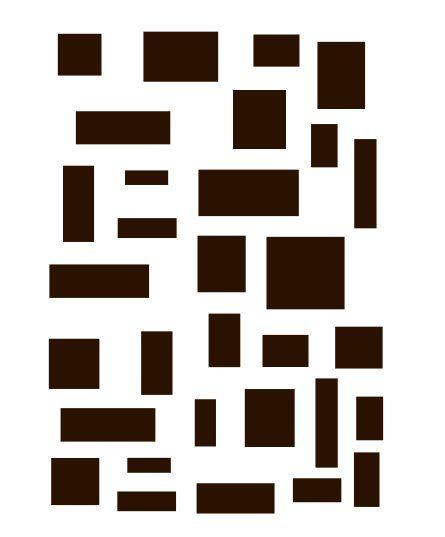 Rectangles stencil