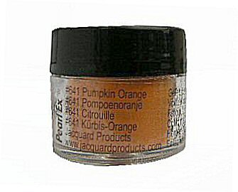 Pumpkin orange (641) Pearlex